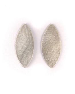 maraljoies- Pendientes navette plata
