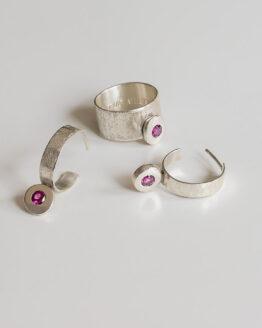 Maraljoies - Pendientes y anillo Aro ESTHER