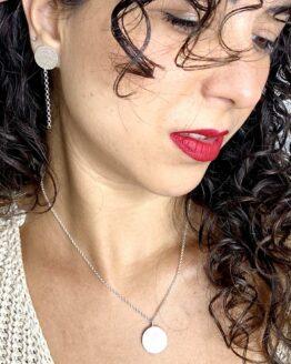 Maraljoies - Collar y Pendientes Xena medianos